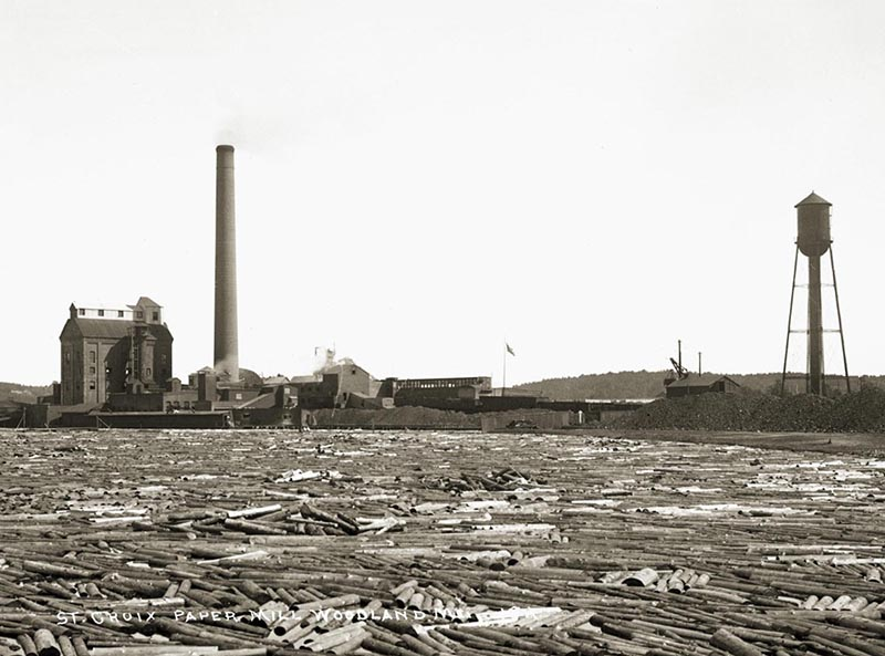 St Croix paper mill, about 1910